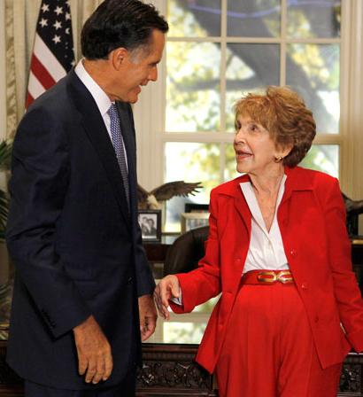 Romney Nancy Reagan 2016 memorial