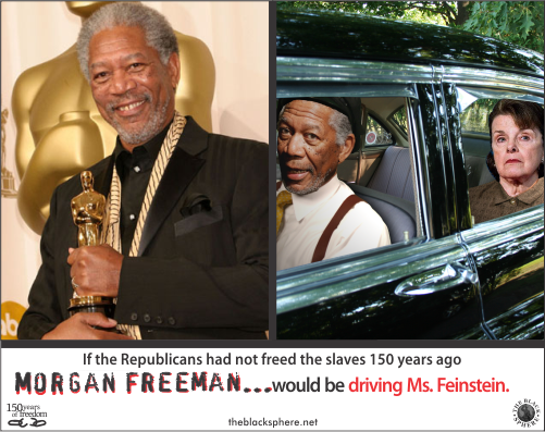 Republicanism - Morgan Freeman driving
