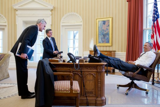 Obamano respect