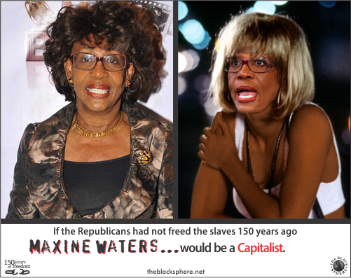 Republicanism - Maxine Waters capitalist