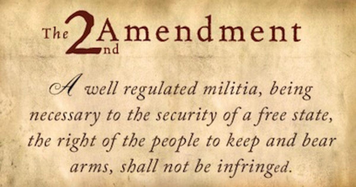 Second Amendment NRA