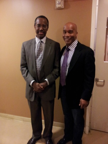 Kevin with Dr. Ben Carson