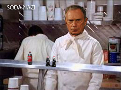 Bloomberg as Soup Nazi