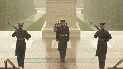 Marines guard tomb