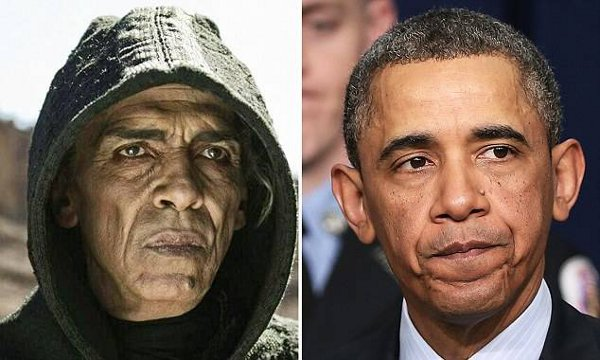 Separated at Birth - Obama and Satan