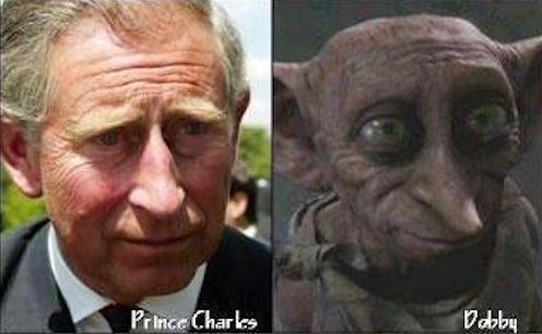 Separated at Birth - Prince Charles