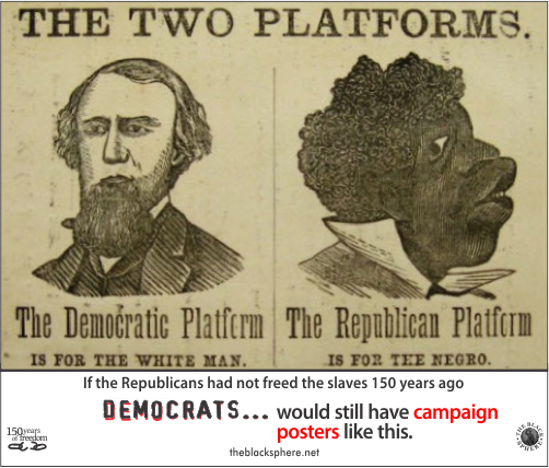 Image result for democrats negros election poster