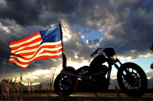 harleyflagAmerica