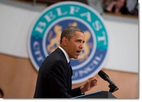 obama-belfast-northern-ireland-insults-catholics-jun-2013