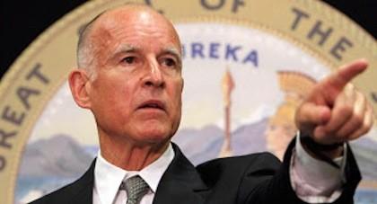 California's Gov. Jerry Brown