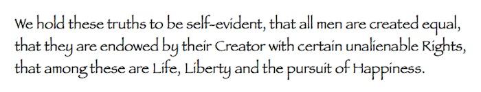Declaration Snippet Frederick Douglass