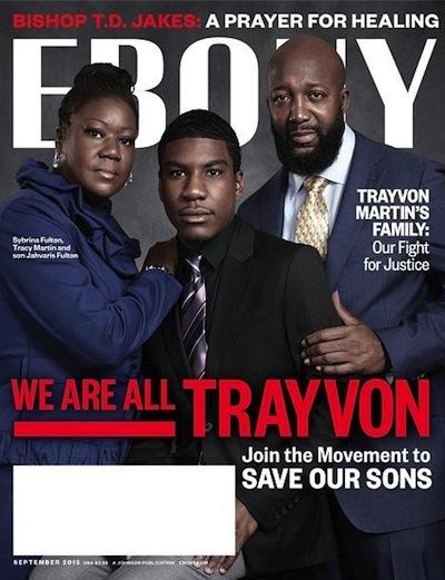 Trayvon Martin Ebony cover3
