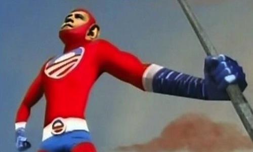 Obama-Superhero