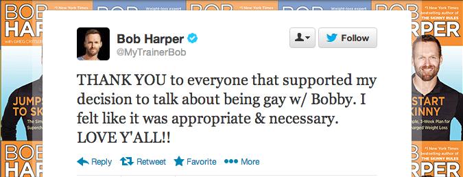 Bob Harper Tweet