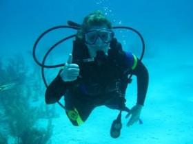 Judy-Diving