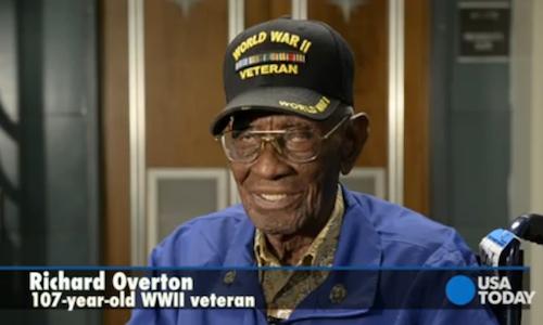 Richard Overton WWII Vet