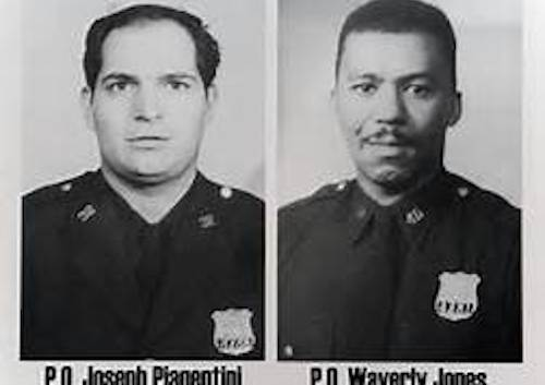 Joseph Piagentini and Waverly Jones