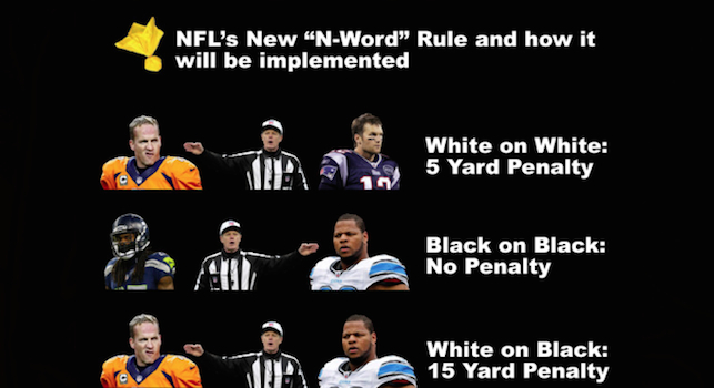 NFL N-Word Rule