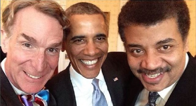 Science Guy and Obama