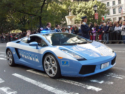 Cop Car - Italy