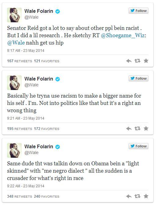 Wale tweets