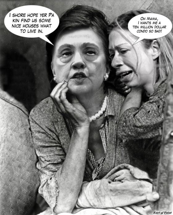 Clintons were so broke
