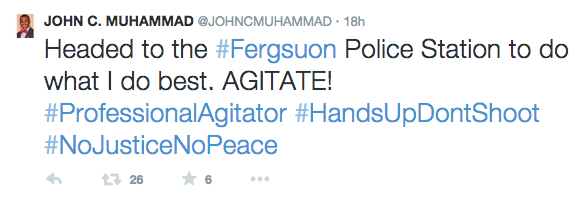 John Muhammad tweet