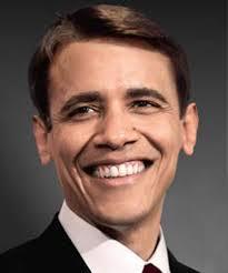 Obama as white man
