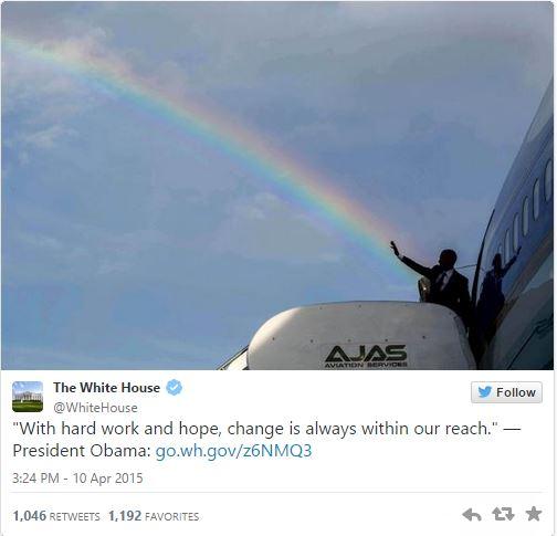 Obama's tweet 1