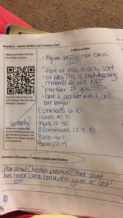 7th Grade assignment