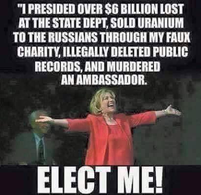 Hillary's record
