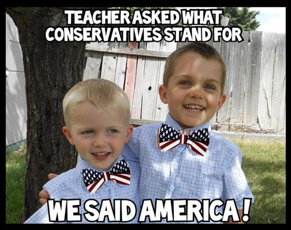 Conservatives stand for America