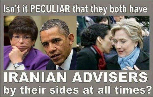 Iranian advisors by their sides