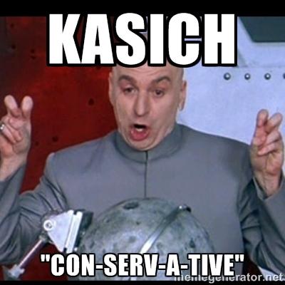 Kasich Conservative