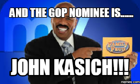 Kasich the GOP nominee