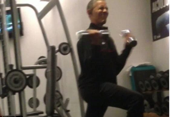 Obama weights