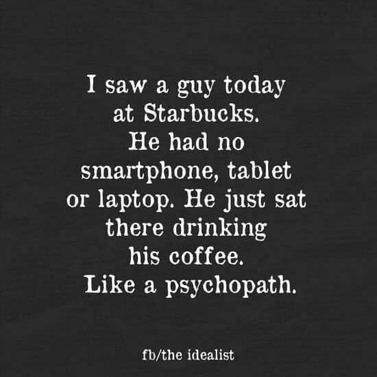 Starbucks psychopath