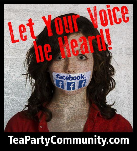 TPC - facebook gagged