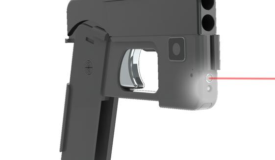 smart-phone gun