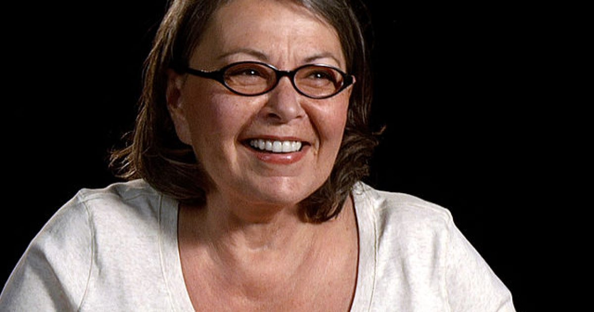 Screenshot of Roseanne Barr from Jordan Brady's film