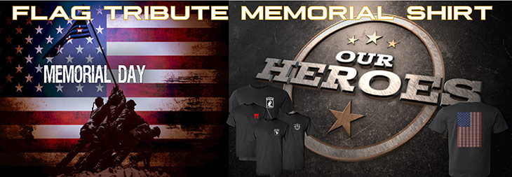 Flag Tribute T-Shirt Fundraising