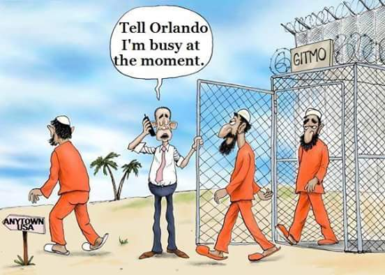 Obama busy Orlando