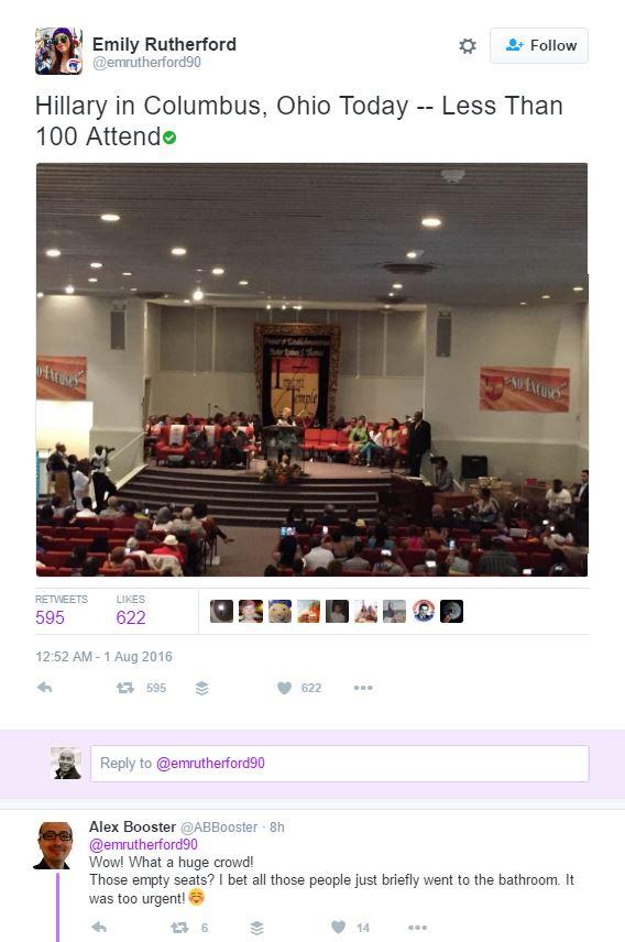 Hillary church