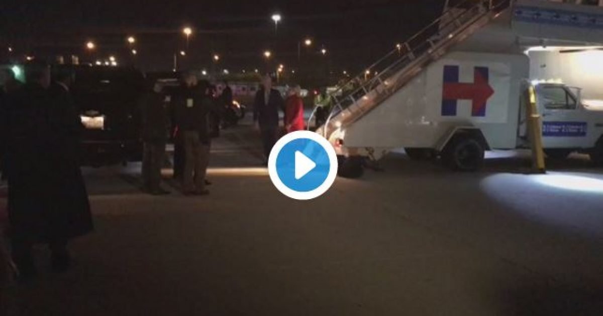 Hillary Clinton Staggers Into Car After Rally (video)