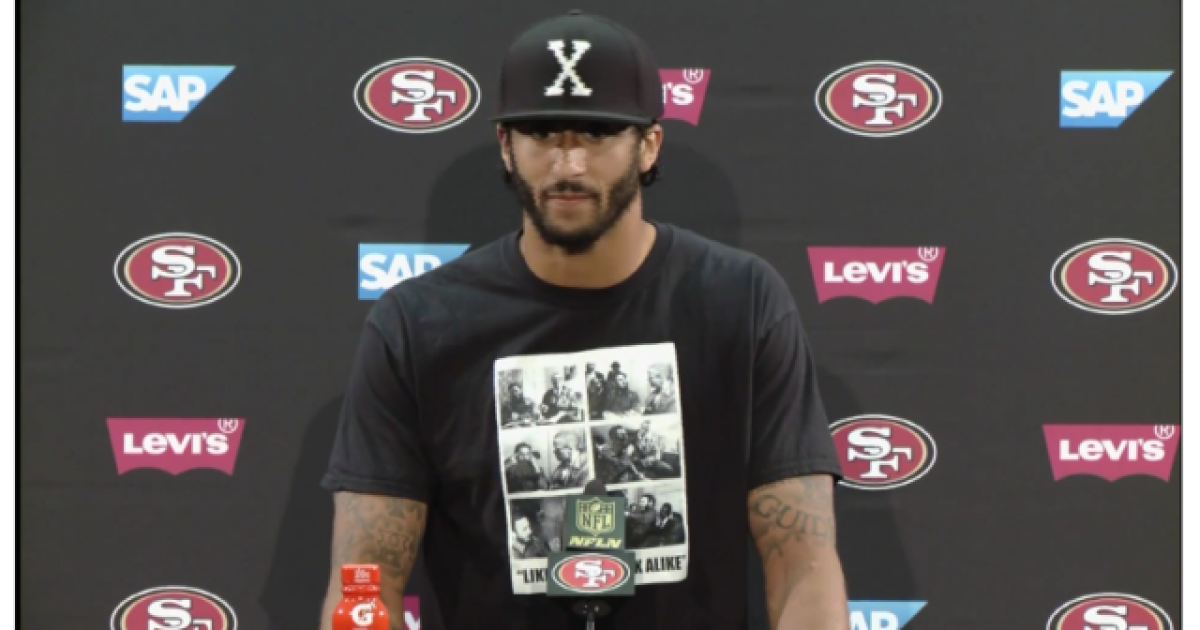Kaepernick gets recognition