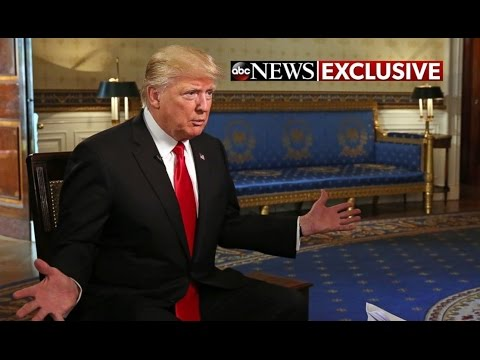 Trump's First WH Interview Gets Heated; ABC Host Silenced in Just One Line