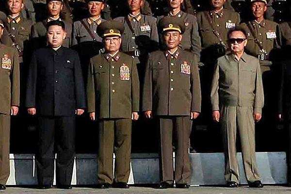 North Korea poised for war