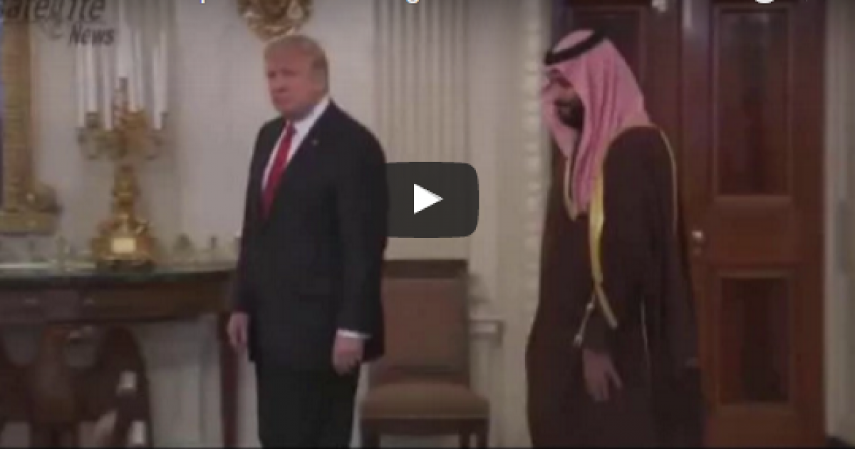 Trump meets with Saudi Prince