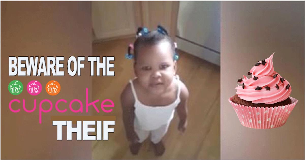 Man INTERROGATES Suspected Cupcake Thief [VIDEO]