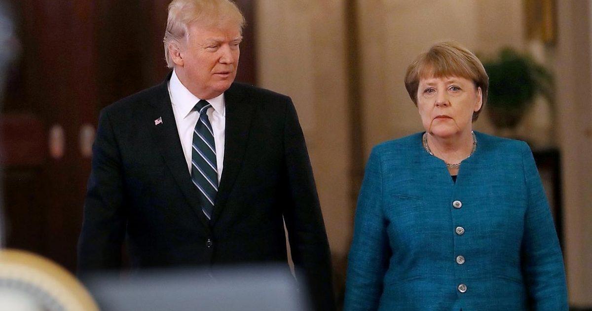 Trump Merkel Invoice